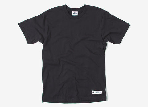 Undefeated Quality Label T Shirt - Black