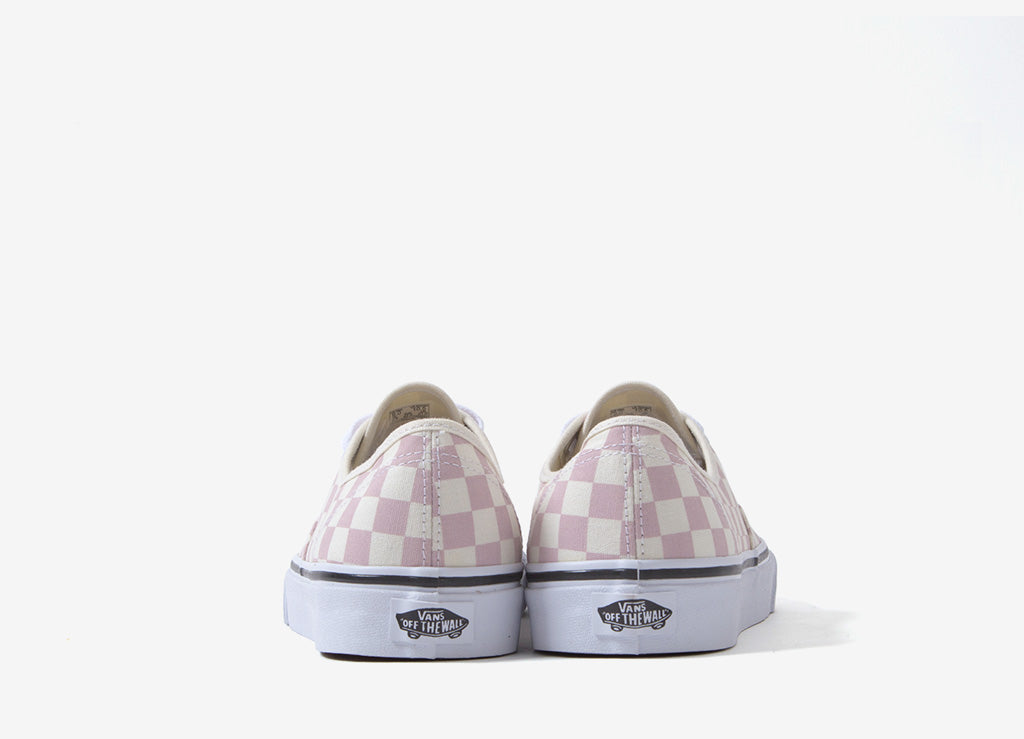 Vans authentische ' Checkerboard ' Schuhe Kreide Rosa