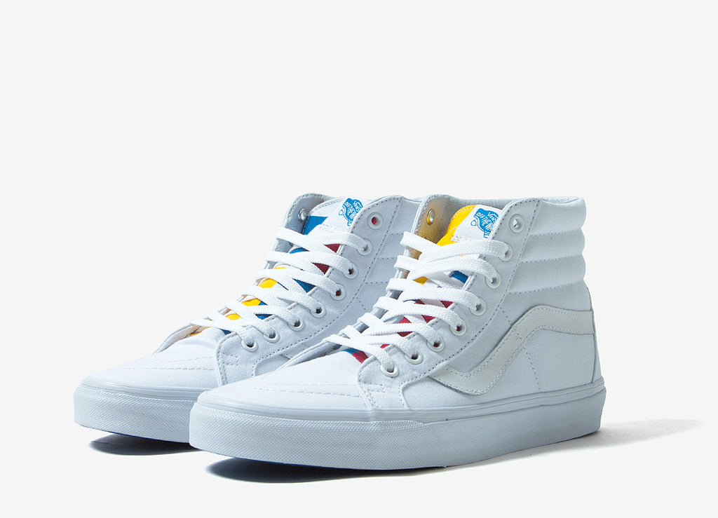 342083d4e8a Vans 1966 Sk8-Hi Re-Issue Shoe - True White