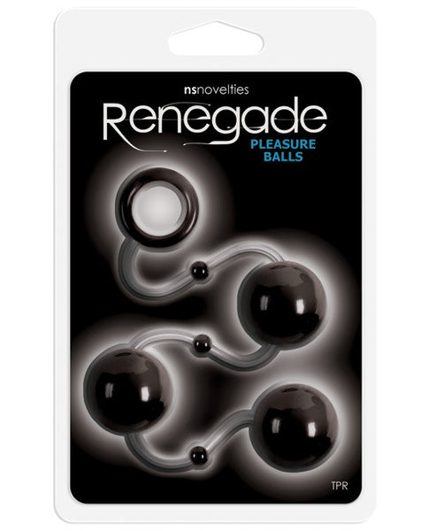 Ns Novelties Renegade Pleasure Balls - Black