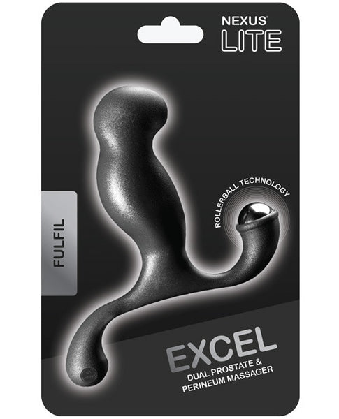 Nexus Excel Prostate Massager - Black