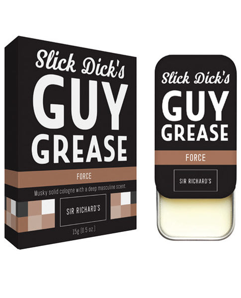 Sir Richard's Slick Dick's Guy Grease Solid Cologne W-pheromones - Force-musk