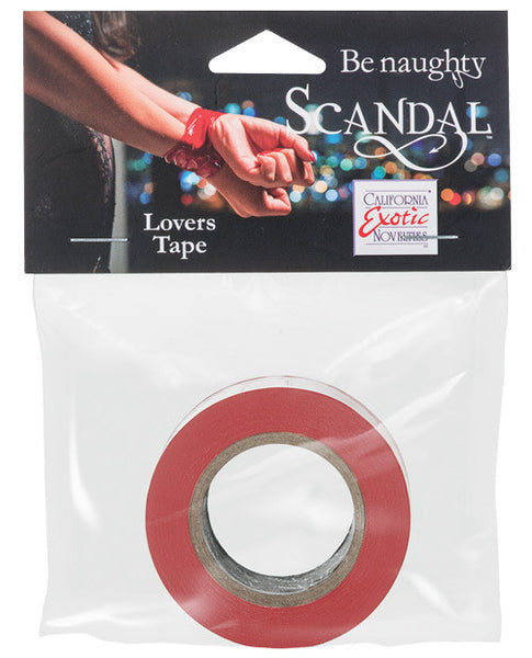Scandal Lovers Tape - Red