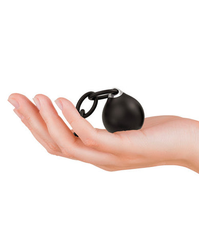 Lust Linx Remote Control Usb Rechargeable Ball & Chain Kegel Ball - 10 Speed Black