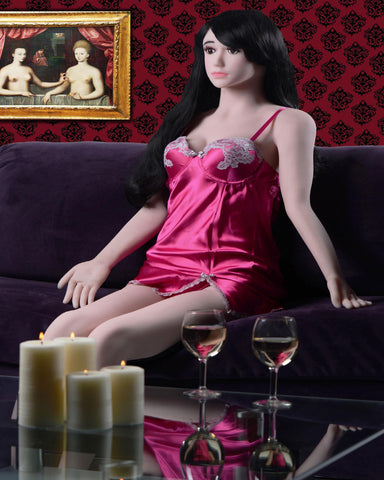 Dahlia Life Size Ultra Platinum Sex Doll