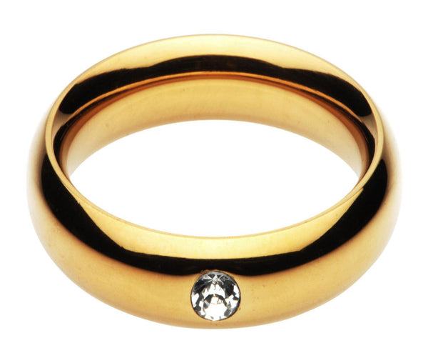 Kings Diamond Crown Cock Ring- 1.95 Inch