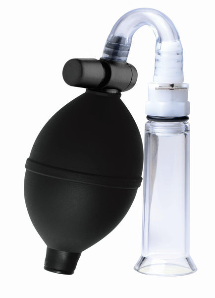 Clitoral Pumping System with Detachable Acrylic Cylinder