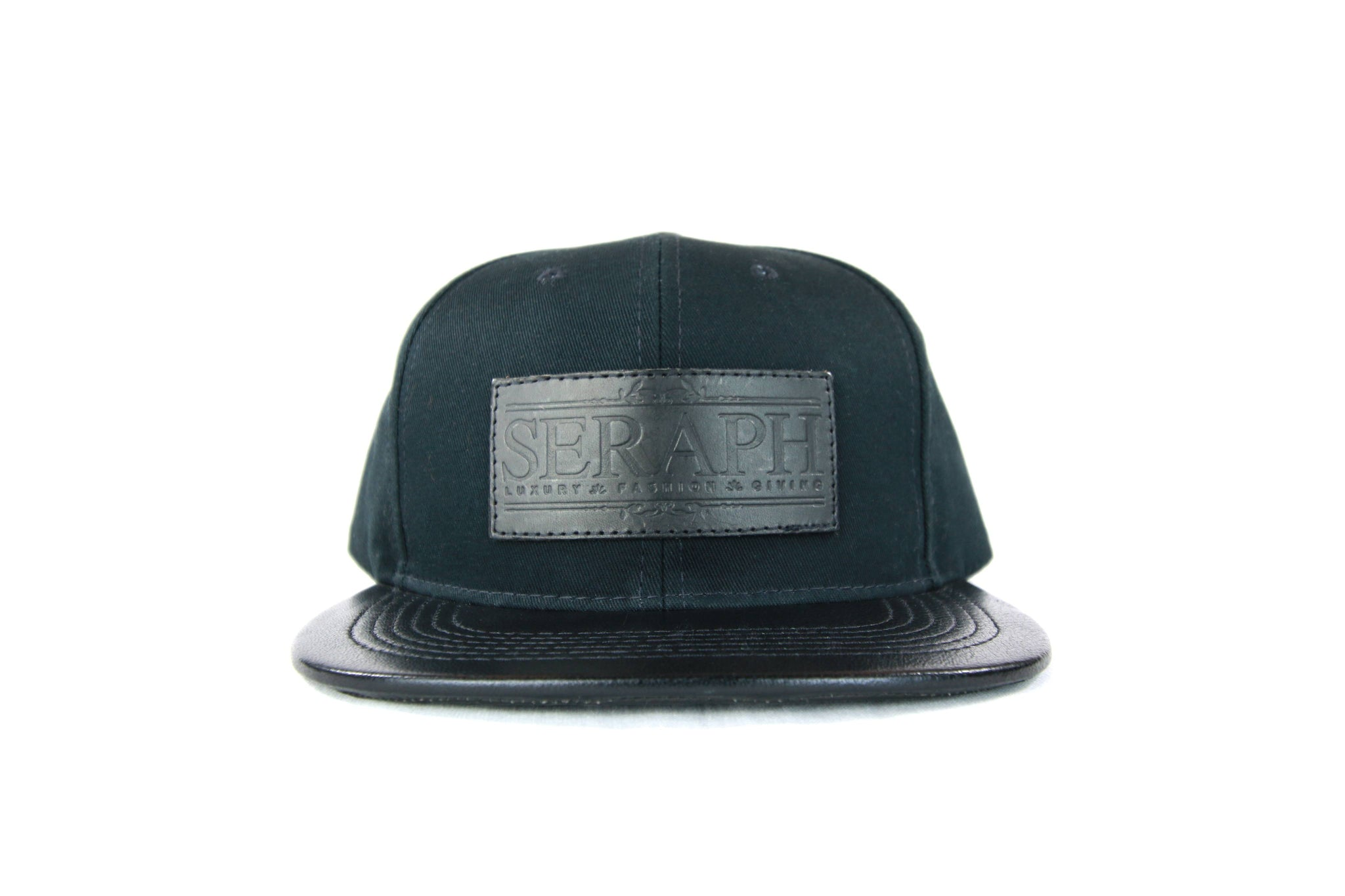 Black Label Hat, American Cotton Twill Triple Black