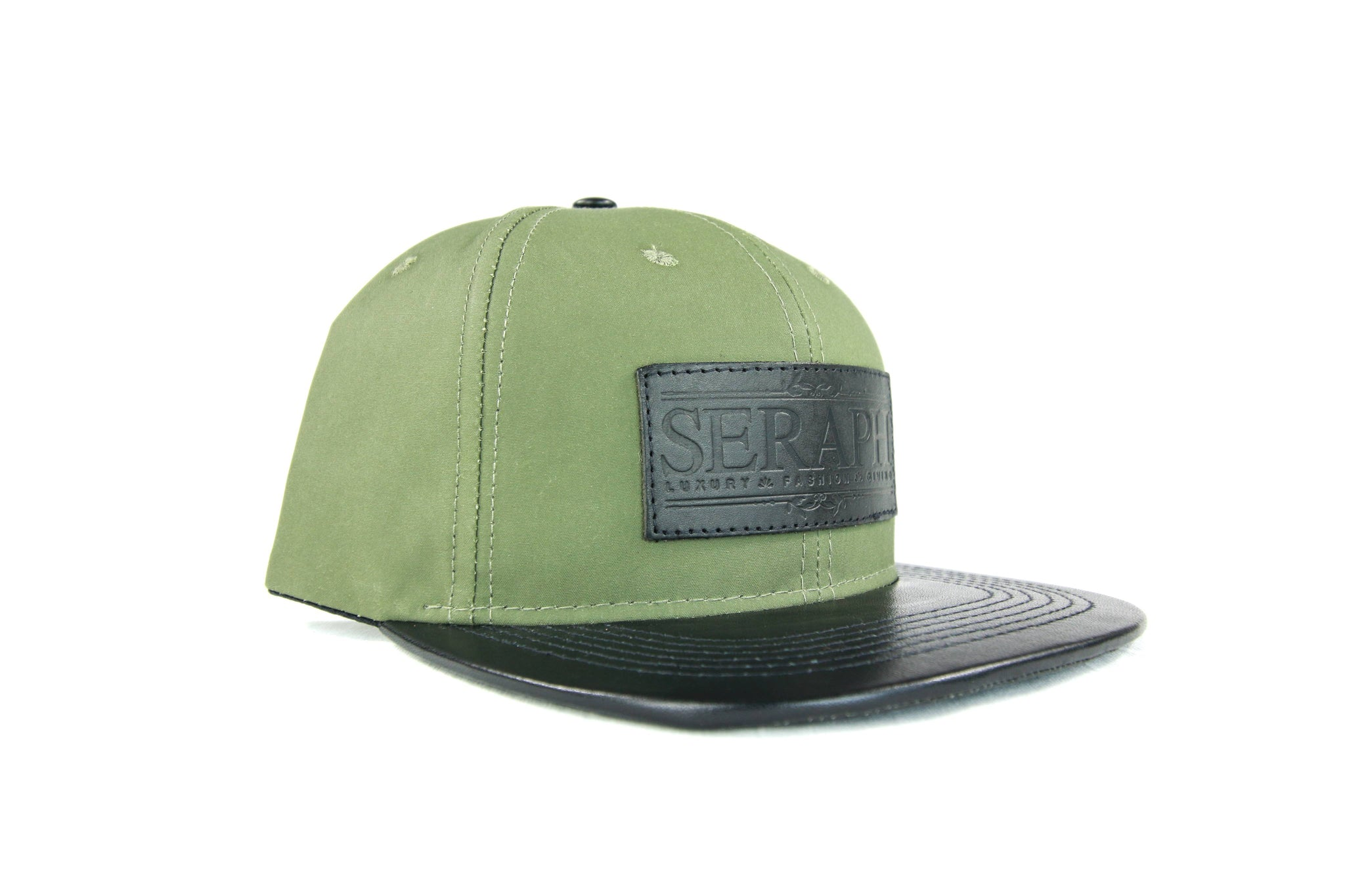Black Label Hat, Water Resistant Olive Green