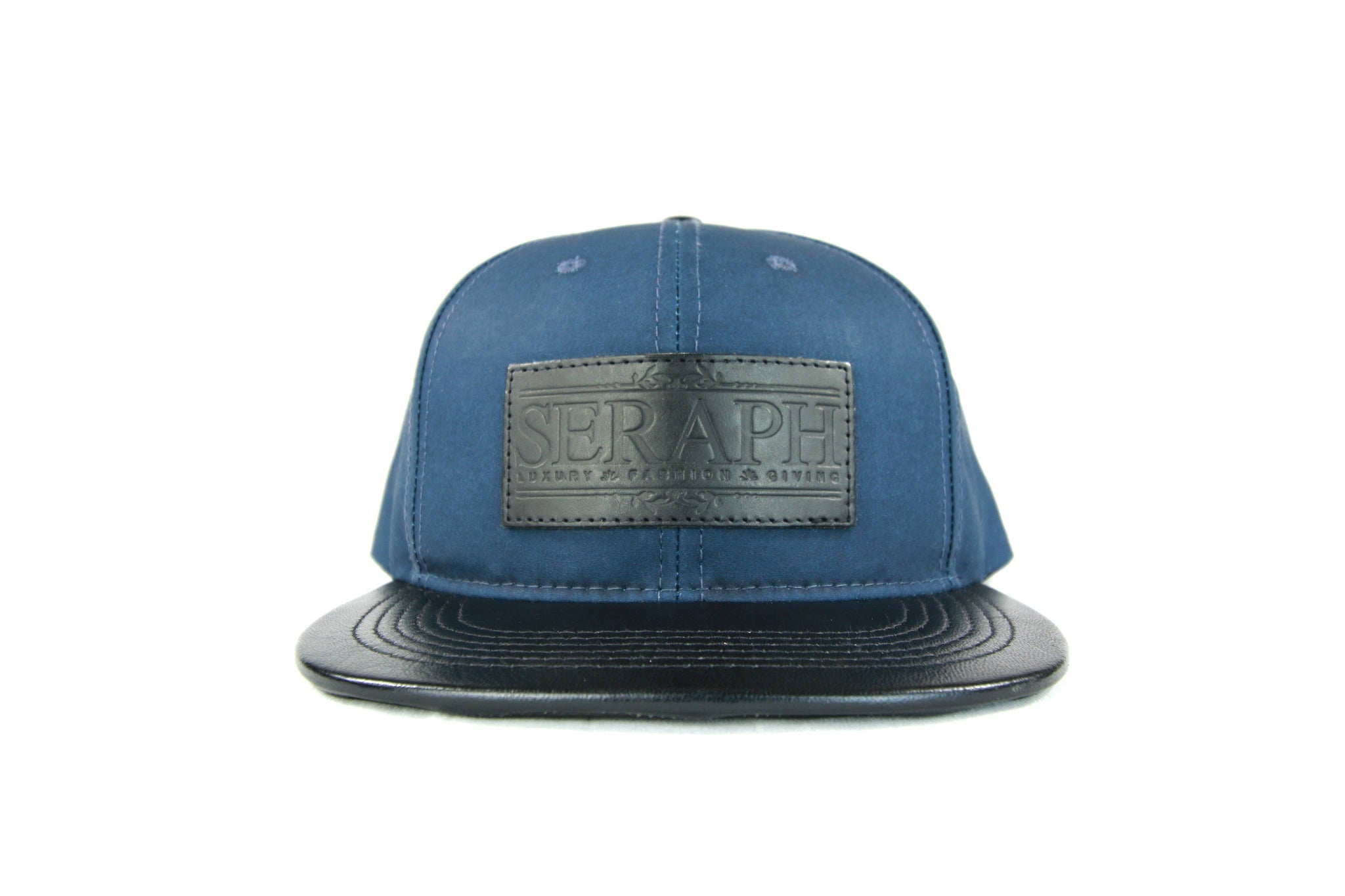Black Label Hat, Water Resistant Navy Blue
