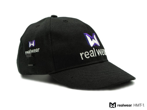Ball Cap w/ HMT-1 Clips - front and side logo - Tech 4 Teams