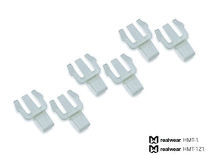 Hard Hat Clips for MSA V-Gard® Front Brim (3 Pair Pack) - Tech 4 Teams