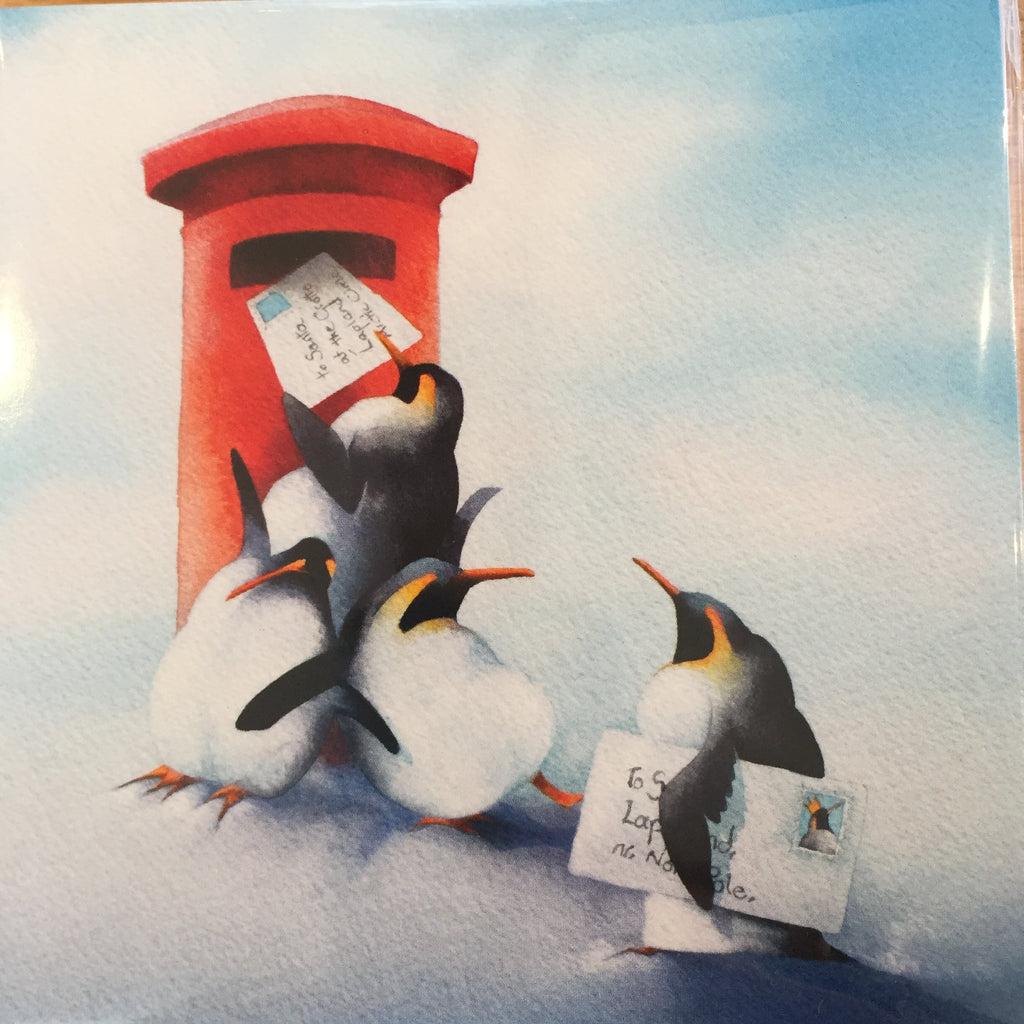 WVS Penguin Christmas Cards