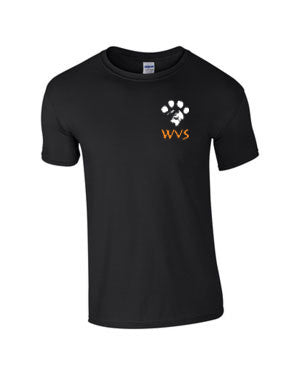 Mens WVS T - Shirt in Black