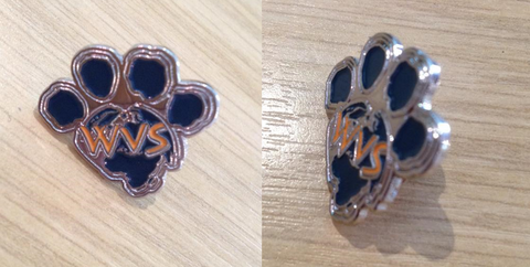 5 x WVS Pin Badges