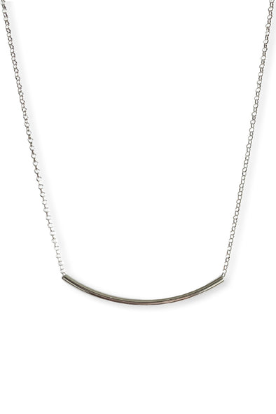 AIDA NECKLACE SILVER