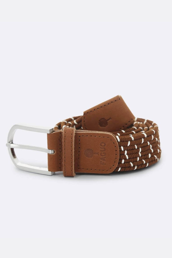 BROWN DOT BELT