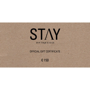 7/ GIFT CERTIFICATE - € 150