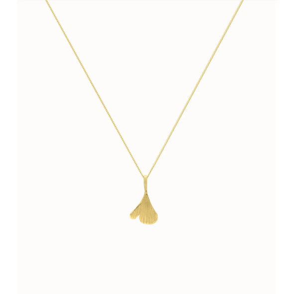 GINKO NECKLACE GOLD