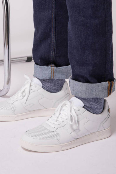 WHITE HAZEL SNEAKERS
