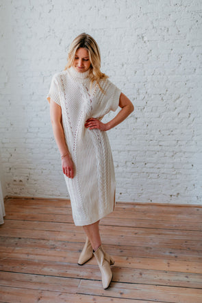 VIA KNIT DRESS