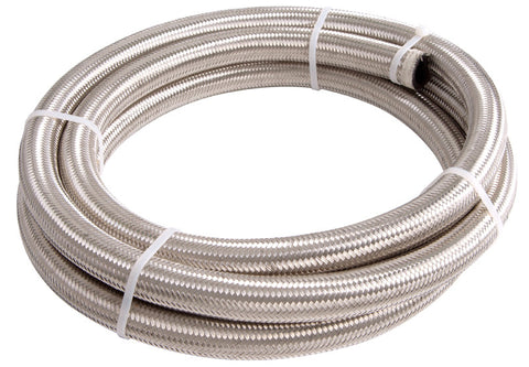 Pre Cut Length Stainless Steel Braided Hose 30r9 Ethanol, E85,Race Fuel , Diesel Compatible - Performance Plumbing Components