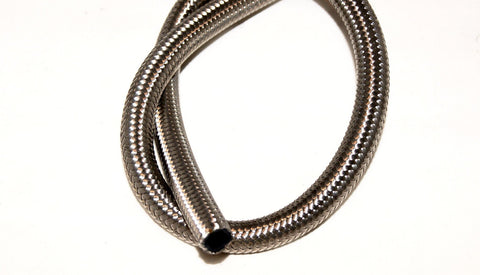 Stainless Steel Braided Hose 30r9 Ethanol, E85,Race Fuel , Diesel Compatible  Bulk - Performance Plumbing Components