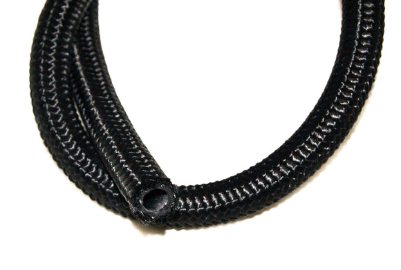 Pre Cut Length Black Nylon  Braided Hose 30r9 Ethanol, E85,Race Fuel , Diesel Compatible - Performance Plumbing Components