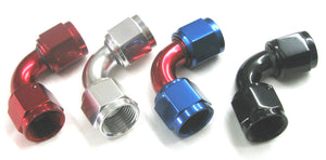 90 Degree AN Female to AN Female Swivel Coupler Union - Performance Plumbing Components