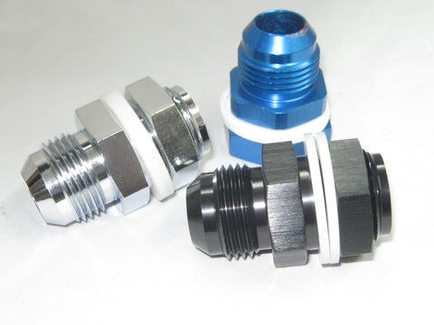 High-Flow Fuel Cell Bulkhead Fitting - Performance Plumbing Components