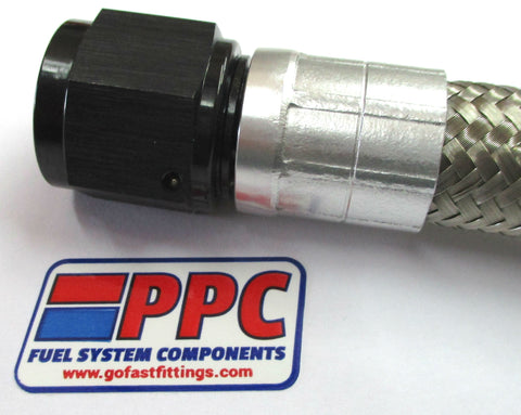 Crimp On Swivel Hose End Fittings - Performance Plumbing Components