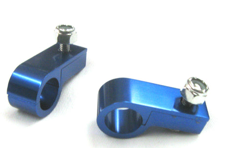 BILLET ALUMINUM LINE P CLAMPS Qty 2 per pkg - Performance Plumbing Components