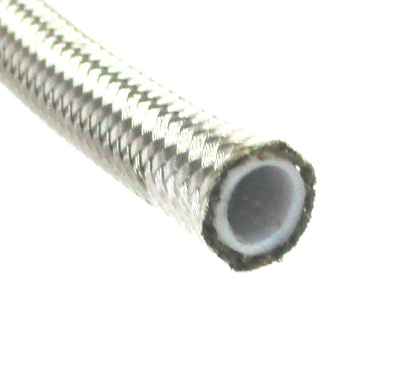 PTFE Stainless Steel Braided Hose  Bulk - Performance Plumbing Components