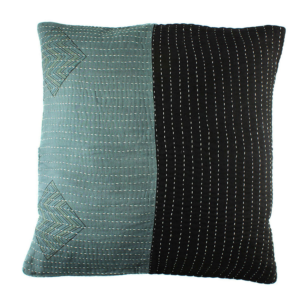 Black and Grey Pillow Cover