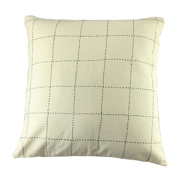Grid Pillow Cover