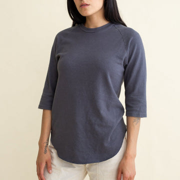 Solid Raglan 3/4 Sleeve - Jungmaven Hemp Clothing
