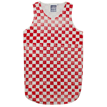 Checkerboard Tank Top - Jungmaven Hemp Clothing