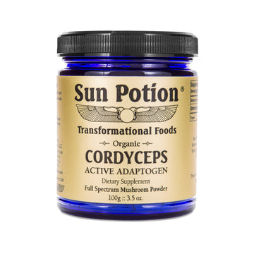 Sun Potion - Cordyceps Mushroom Powder - Jungmaven Hemp Clothing