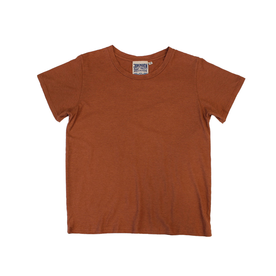 Cropped Ojai Tee - Jungmaven Hemp Clothing