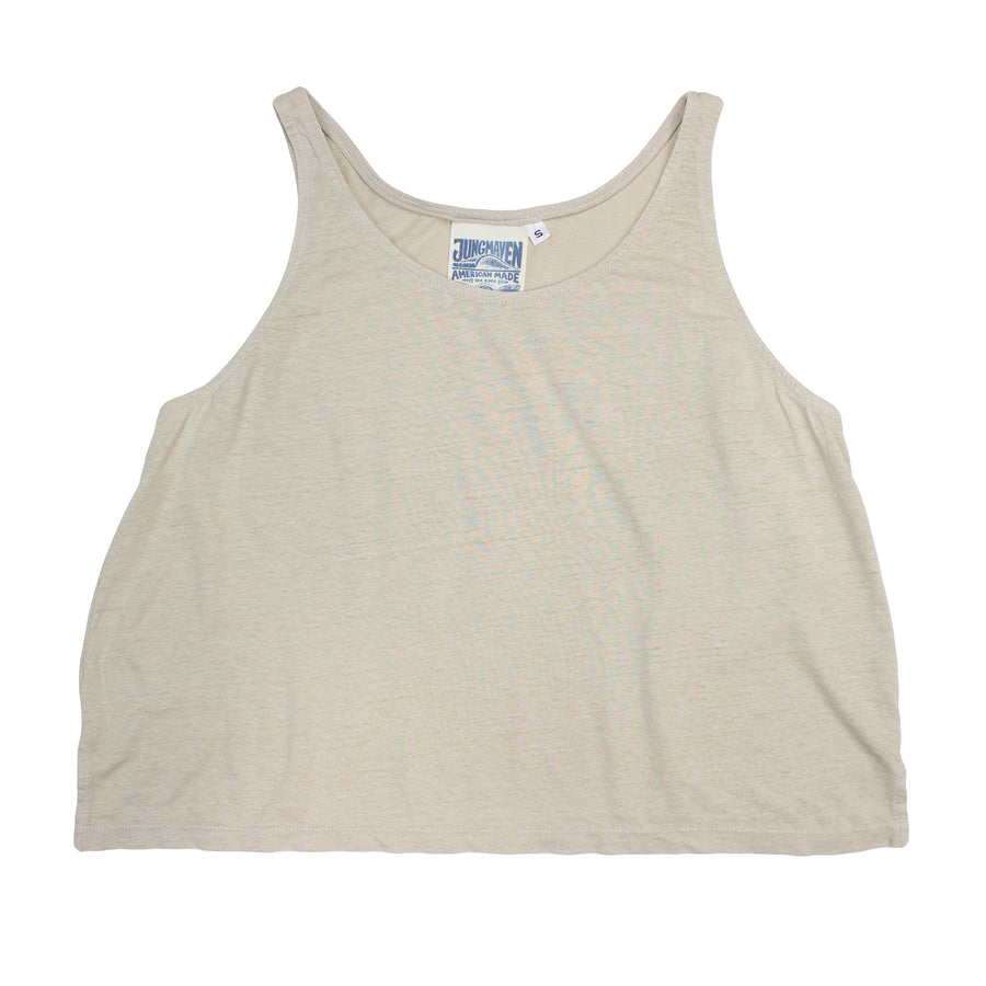 Cropped Tank - Jungmaven Hemp Clothing