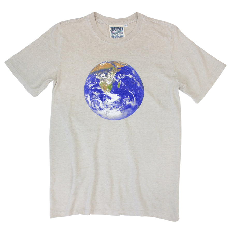 Earth Flag Jung Tee - Jungmaven Hemp Clothing