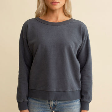 Laguna Cropped Sweatshirt - Jungmaven Hemp Clothing