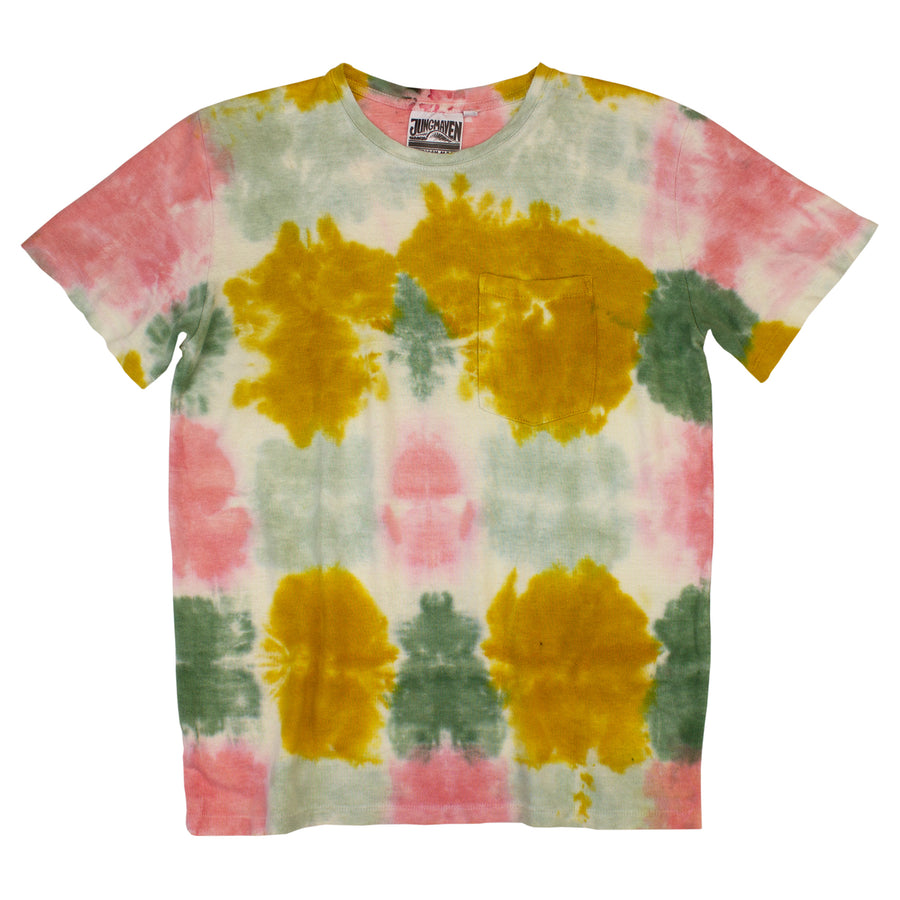 Kaleidoscope Baja Pocket Tee - Jungmaven Hemp Clothing