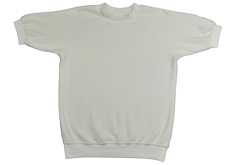 Short Sleeve Raglan Fleece Sherpa Sweatshirt - Jungmaven Hemp Clothing