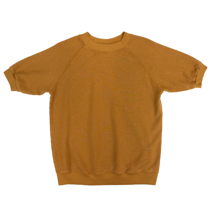 Short Sleeve Raglan Fleece Sweatshirt - Jungmaven Hemp Clothing