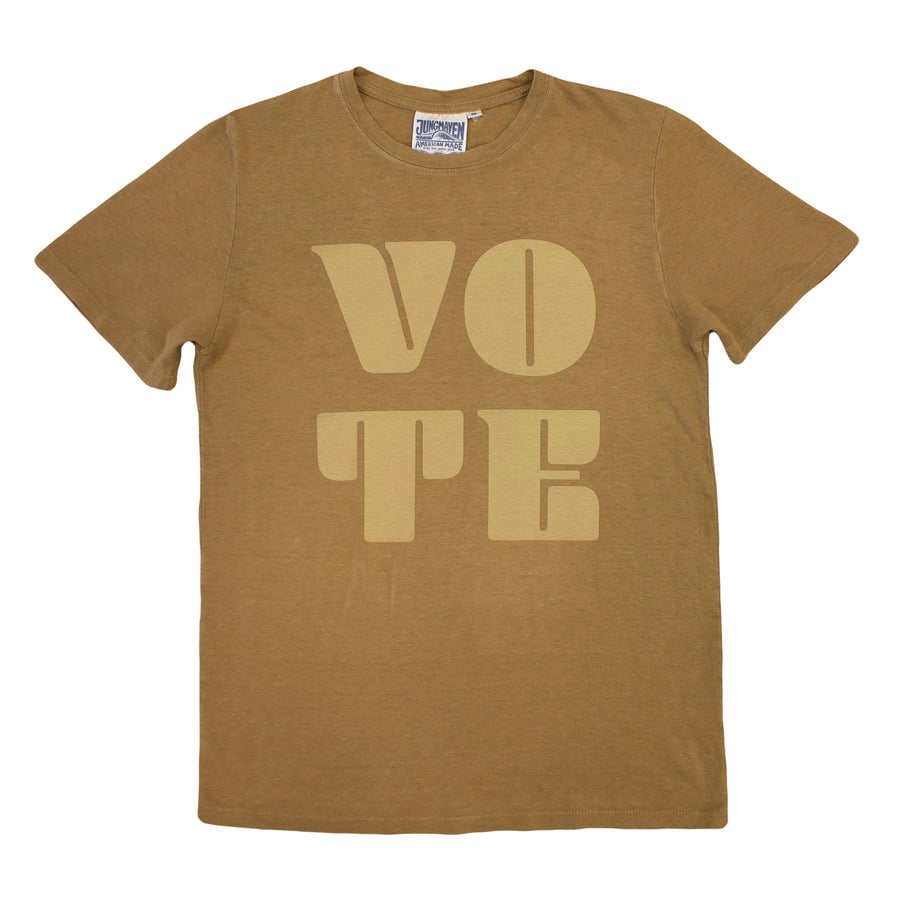 Vote Baja Tee - Jungmaven Hemp Clothing