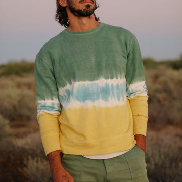 Dip-dyed Tahoe Terry Sweatshirt - Jungmaven Hemp Clothing