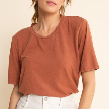 Silver Lake Cropped Tee - Jungmaven Hemp Clothing