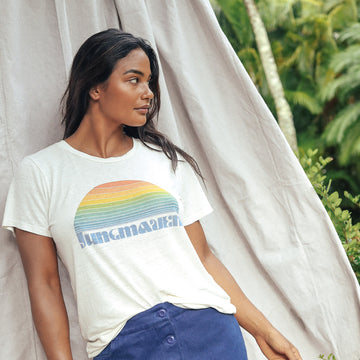 Sunrise Lorel Tee - Jungmaven Hemp Clothing