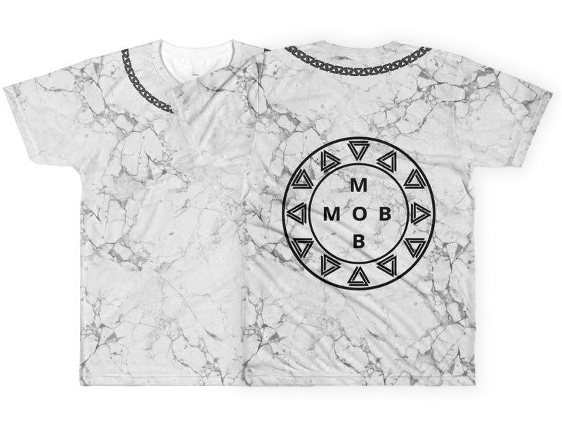 Marble & Chains MOB T-shirt - Unisex - Alpha Mob